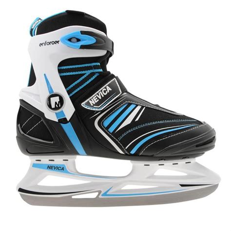 Comfortable Hockey Skates by Nevica Mens Skates Lace Up Adjustable Clasp