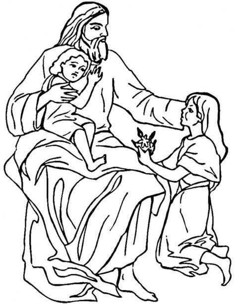 printable coloring pages of jesus free printable jesus coloring pages for