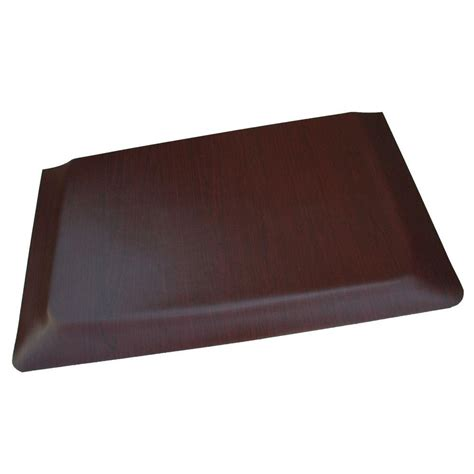 Kitchen Mat Vinyl Rhino Anti Fatigue Mats Soft Woods Walnut Wood Grain