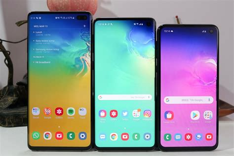 samsung galaxy s10 best overall phone package is sleek and stunning with industrial design to