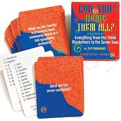 Gift Cards With Names On Them - can you name them all knowledge cards findgift com