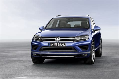 volkswagen touareg 2015 volkswagen touareg facelift brings new features