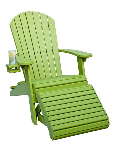 Polywood Folding Adirondack Chair by Pinecraft Poly Adirondack Chair From Dutchcrafters Amish