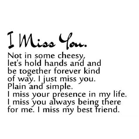 Quotes About Missing Your Friends by Best Friend Quotes Miss You Quotesgram