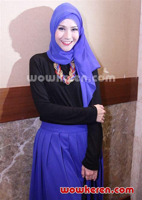 Zaskia Adya Mecca Baju Muslim foto zaskia adya mecca di acara fashion show busana muslim foto 49 dari 57