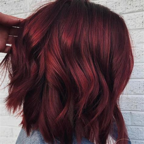 wine hair color we re calling it mulled wine hair is the best trend this