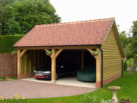 Garages Designs cart lodges bespoke oak designs of woodbridge suffolk