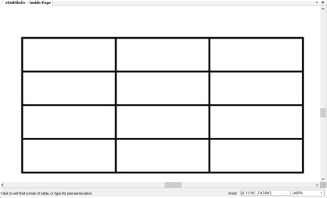 create a table chart adding tables to a document sketchup knowledge base
