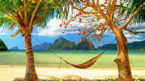 Häng Hängematte by Die 60 Besten Strand Hintergrundbilder