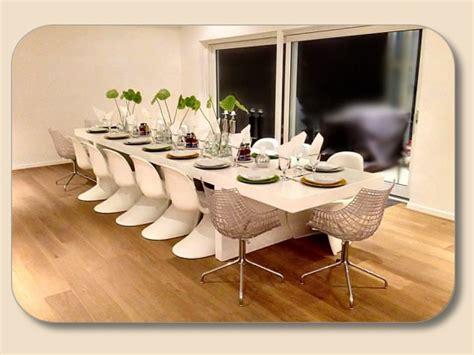 esstisch ausziehbar für 14 personen gro 223 er design tisch z b wei 223 langer esstisch massiv holz
