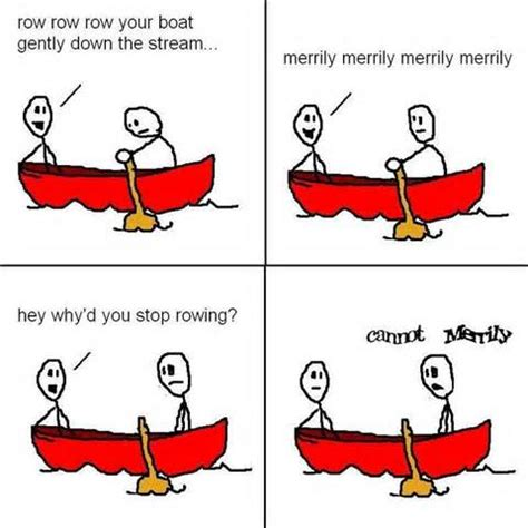 funny quotes about boats quotesgram - Row Your Boat Jokes