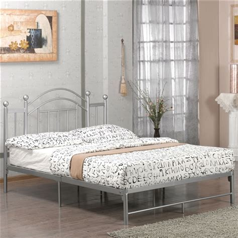 metal bed frame headboard and footboard full size metal platform bed frame with headboard and