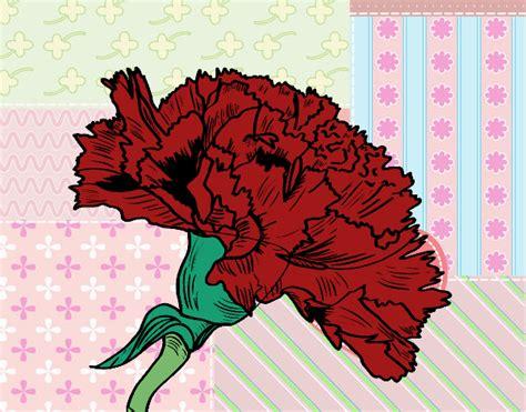 fiori di garofano disegno fiore di garofano colorato da utente non