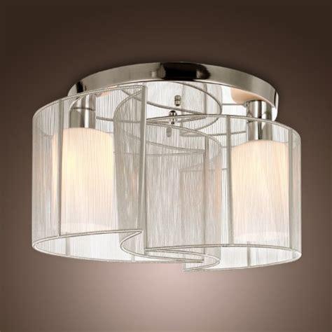 lightinthebox illuminazione lightinthebox 174 2 light semi flush mount ceiling light