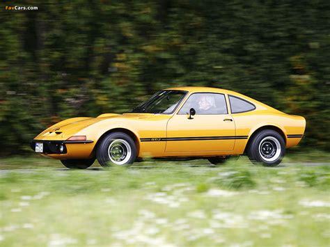 73 Opel Gt by Opel Gt J 1971 73 Wallpapers 1024x768