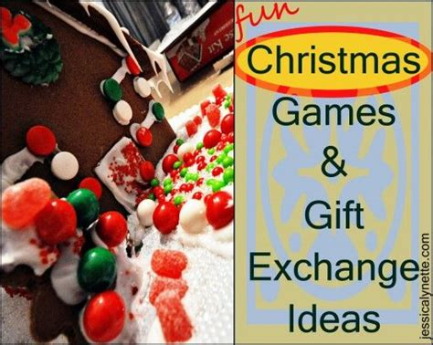 christmas games gift exchange ideas pinpoint