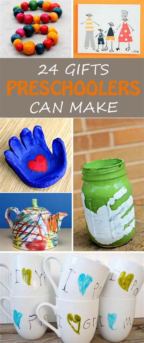 28 best christmas gift ideas for preschoolers to make