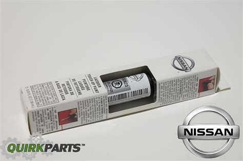 nissan brilliant silver k23 touch up paint clear coat pen oem new ebay