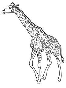what color is a giraffe free printable coloring pages giraffe 2015