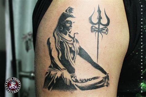 shiva tattoo photos pictures calm lord shiva tattoo black poison studio