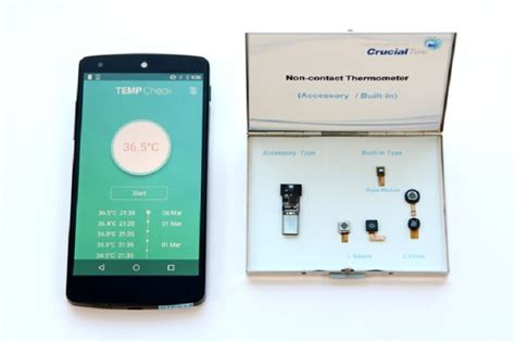 android thermometer the world s smartphone based micro thermometer is here