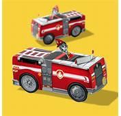 Marshall Paper Vehicle Toy Craft  Nickelodeon Parents