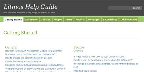 the litmos help guide litmos blog