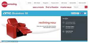 Amc Braintree Recliners by Amc Declares War On Netflix With Theater Chain Spending