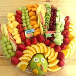 cute turkey fruit platter working mom s edible art