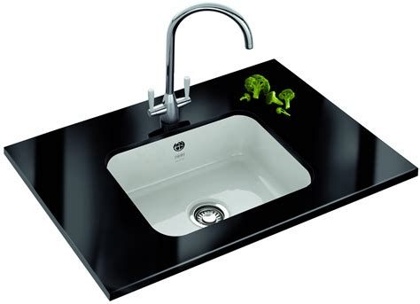 undermount ceramic kitchen sinks franke v and b vbk 110 50 ceramic 1 0 bowl undermount