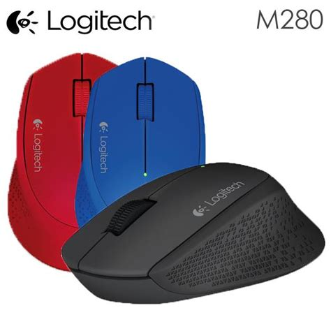 Logitech Wireless Mouse M280 Biru Limited jual logitech m280 wireless mouse new comer