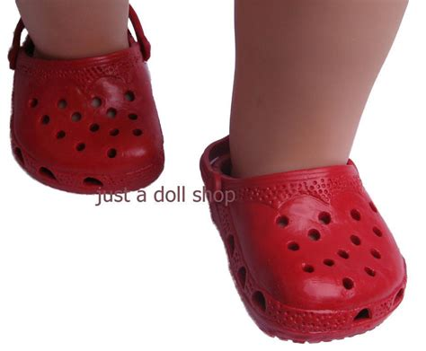 shoes and clothes doll clothes shoes rubber clogs fit 18 inch american
