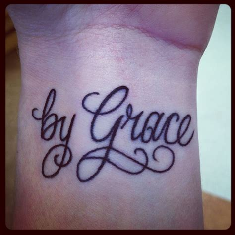 saved by grace tattoo for it is quot by grace you been saved through faith my