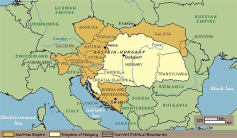 austria hungary map 1900 genealogy petranyin family