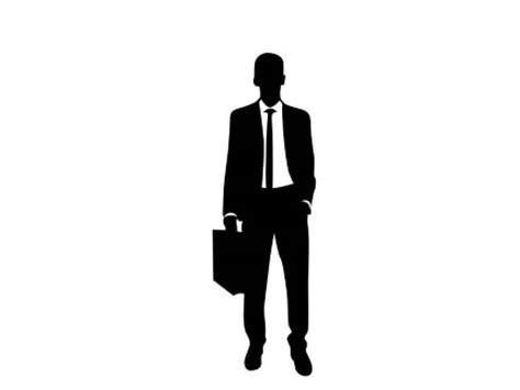 presentationpro business silhouette man standing
