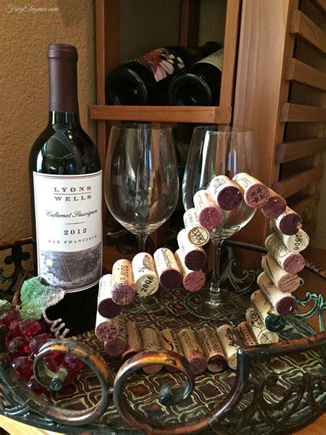 wine cork hearts home decor by frugelegance