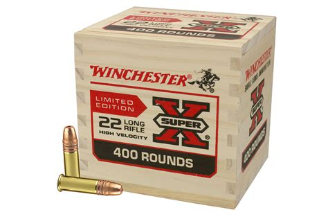 Avelox 400 Stock Limited winchester 22lr 36 gr copper plated hp 400 rounds in wooden box limited edition vance outdoors