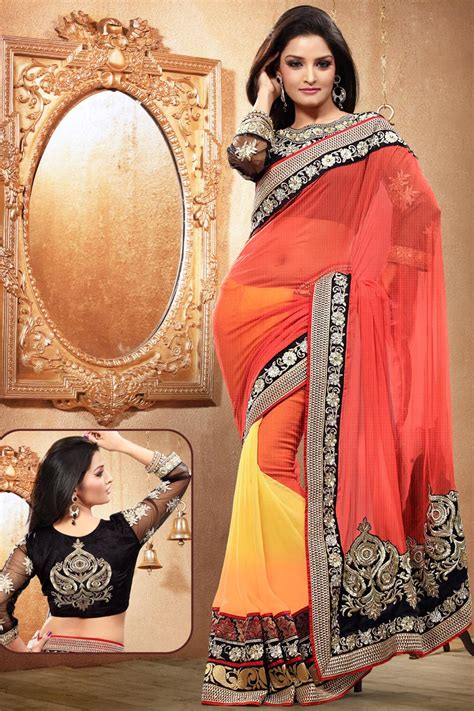 show in surat fashion and styles wear beautiful indian saree