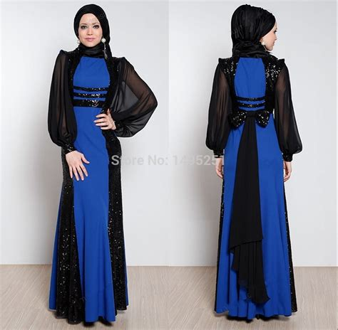 design dress muslimah 2014 winter fashion of hijab abaya s in black lace style with