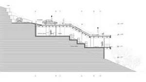 house on a steep hill green living roof plan b arquitectos steep hillside house plans built into hillside house plans