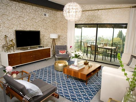htons contemporary home design decor show 21 beautiful mid century modern living room ideas gold