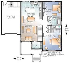 Bungalow House Plans With Basement And Garage House Plan W3126 V1 Detail From Drummondhouseplans