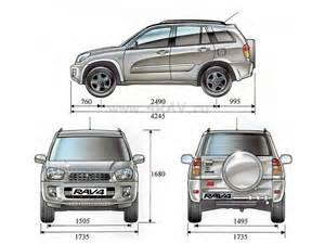Toyota Rav4 Size Toyota Rav4 4