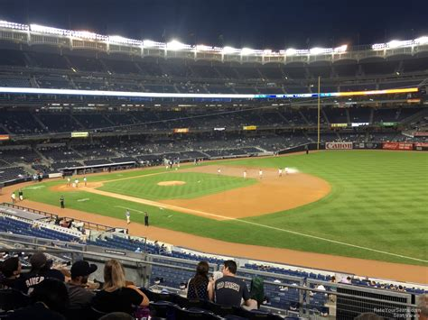 Section 205 Yankee Stadium by Yankee Stadium Section 212 New York Yankees Rateyourseats