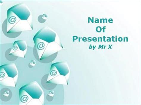 email boxes invasion powerpoint template