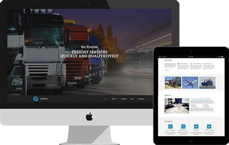 bootstrap templates for logistics logistic freight services html template hot bootstrap