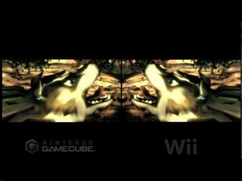 wii vs gc graphics the twilight princess intro wii vs gamecube