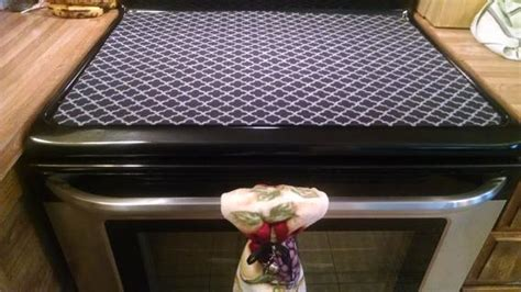 electric cooktop cover stove top cover stove glass top cover stove top protector