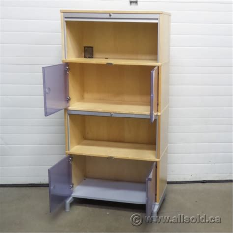 IKEA Effektiv Birch Multi Compartment Roll Front Storage