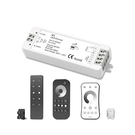 led light dimmer mjjc led dimmer 5v 12v 24v 36v rf wireless remote mjjc v1